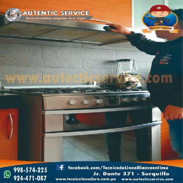 Tecnico de cocina a gas y electricas en Lima