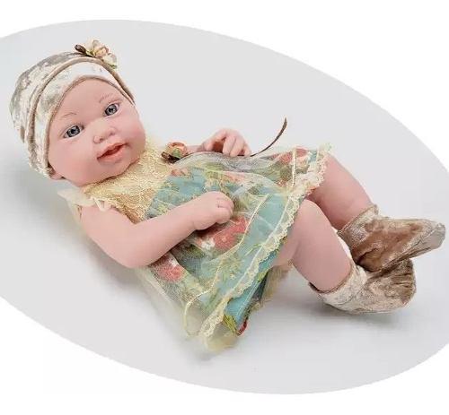 Muñecas Reborn Bebe Real 40 Cm