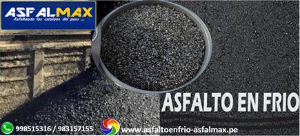 Venta de asfalto en caliente a precio competitivo en Lima