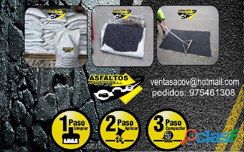 ASFALTO EN FRIO PARA SELLADOR DE JUNTAS