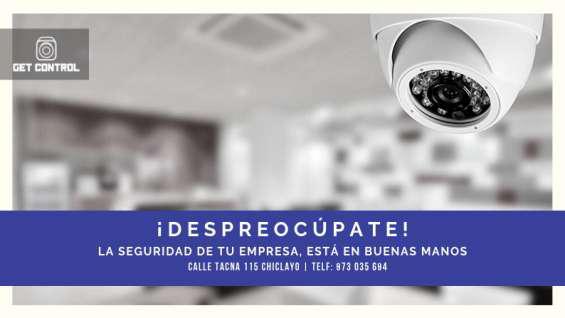 Cámaras de seguridad en Chiclayo