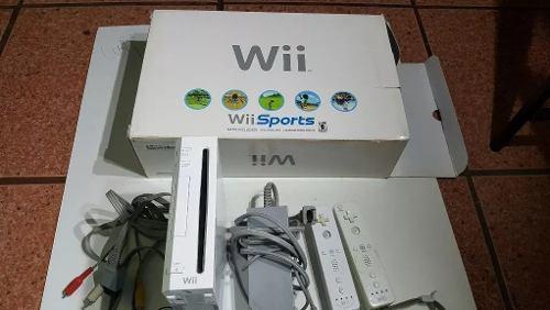 Consola Nintendo Wii En Caja