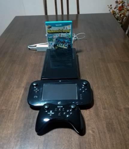 Nintendo Wii U 32 Gb Nintendoland Con Mando Pro Controller