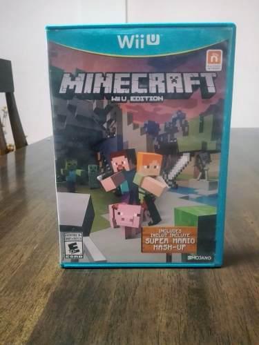 Nintendo Wii U Minicraft Incluye Super Mario Mash-up