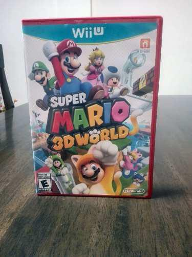 Nintendo Wii U Super Mario 3d World Original