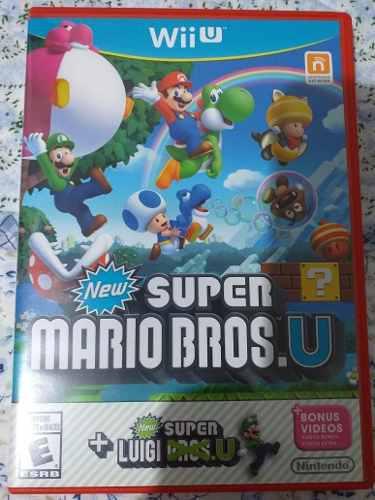 Nintendo Wii U: Super Mario Bros U Original