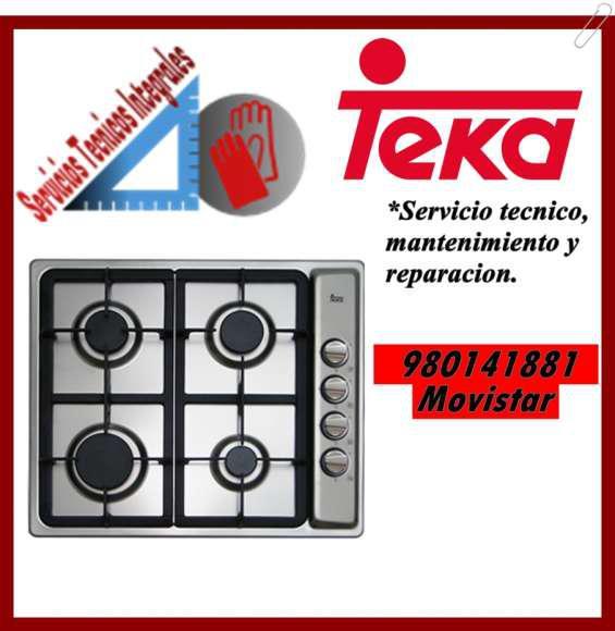980141881 mantenimiento y reparacion para cocinas teka en