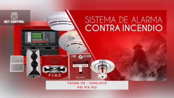 Alarma contra incendios en Chiclayo