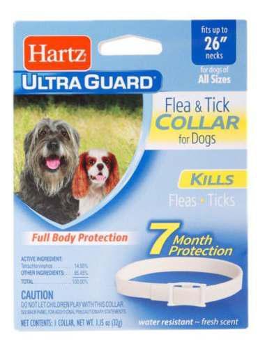Collar Hartz Ultraguard 7meses Protección Usa - Todo