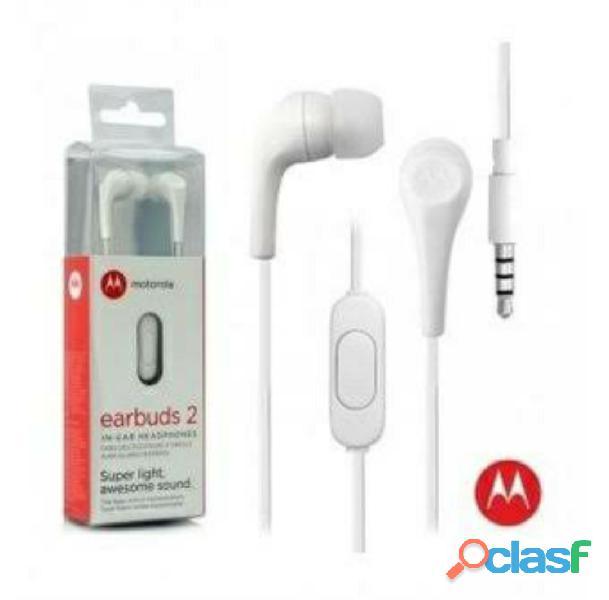 Motorola Audifono Handsfree Earbuds 2