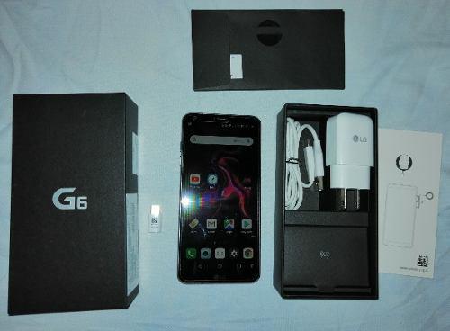 Celular Lg G6 Ram 4gb Rom 32gb En Caja Todos Sus Accesorios