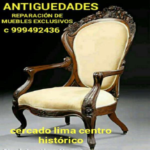 Reparación de muebles antiguos lima peru en Lima