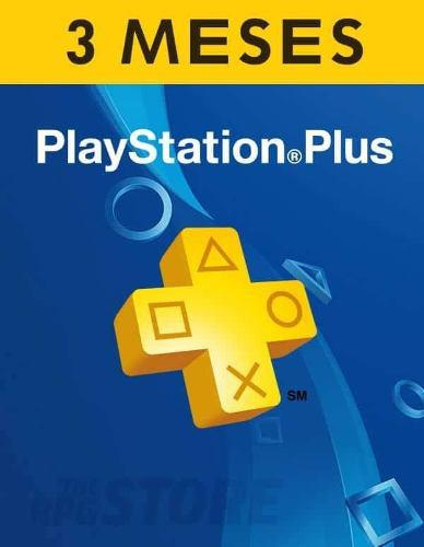 Play Station Plus 3 Meses - Ps4