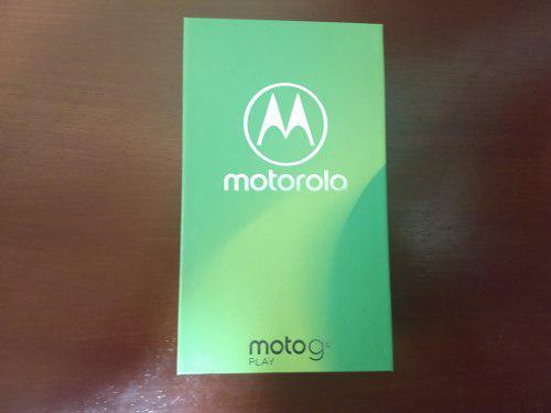 Moto G6 Play - Nuevo En Caja
