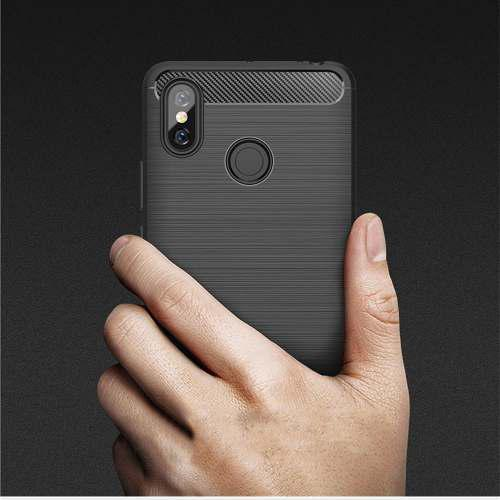 Funda Fibra Carbono Xiaomi Mi8 Mi9 Mi Max 3 Note 6 A1 A2 Go