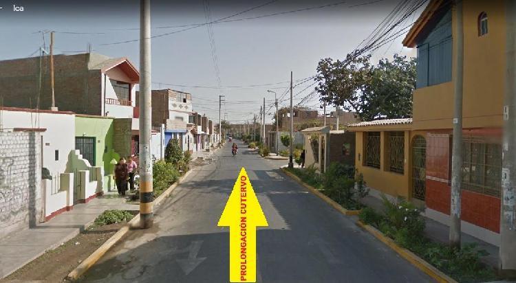 Venta de Casa en Ica, Av Prolongación Cutervo, Sector