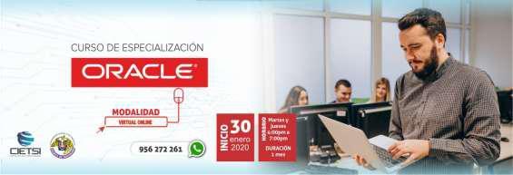 Curso de especialización oracle 2020 (nuevo) en Chiclayo