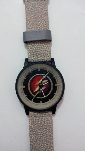 Reloj Unisex Inspirado En Dc Comics Flash Liga Justicia