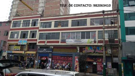 Venta de local comercial en Lima