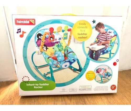 Mecedora Para Bebés Con Vibración/ Silla Para Infantes