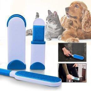 Removedor Quita Pelusas Pelos Mascotas Perro Gato 3 En 1