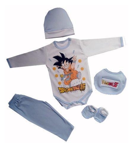 Ajuar De Bebe Goku Dragon Ball Ropa De Bebe