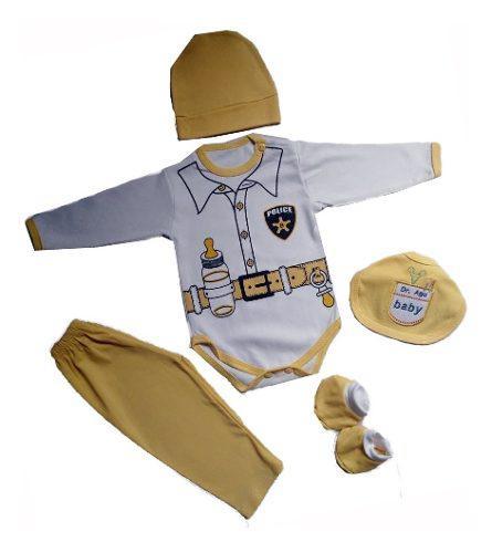 Ajuar De Bebe Policía Ropa De Bebe