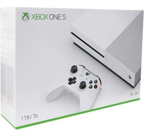 Consola Microsoft Xbox One S 1tb White Color Blanco