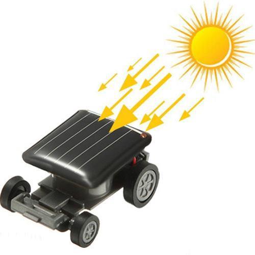 Juguete A Energia Solar Carrito Insecto Grillo