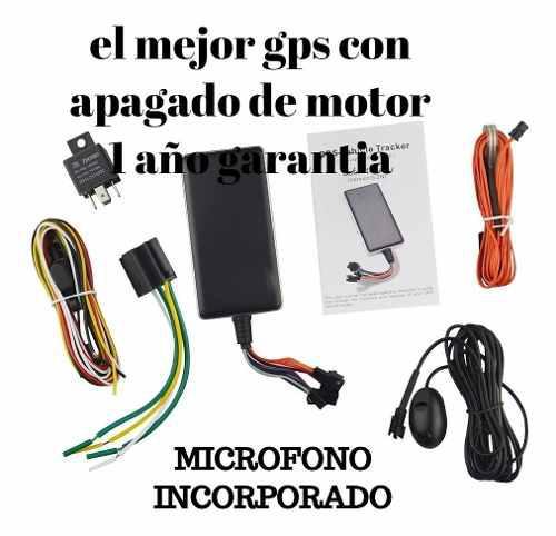 Gps Para Vehiculos Con Apagado De Motor Y Microfono