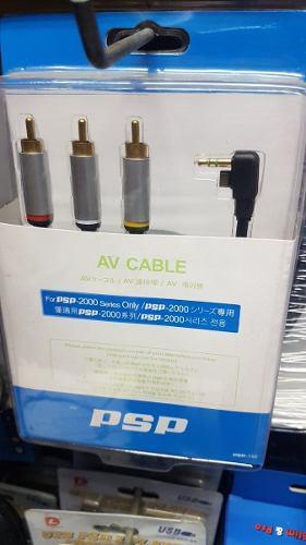 Cable Av Audio Y Video Para Psp Slim 2000 Y 3000