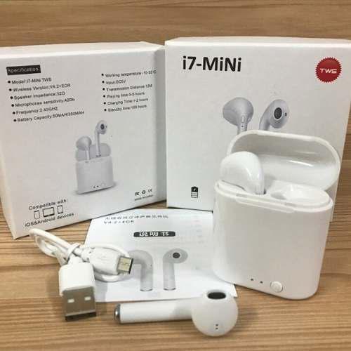Audífonos Bluetooth I7 Mini Tws Tipo AirPods