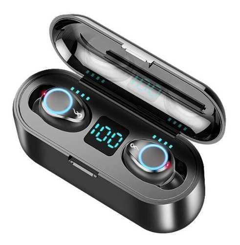Audífonos Inalámbricos Bluetooh F9 Tws Con Micrófono