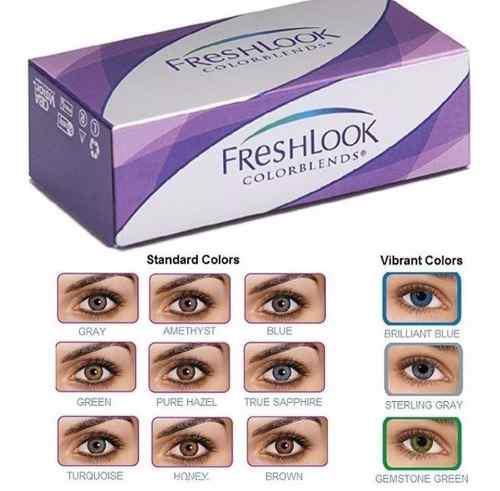 Lentes De Contacto Cosmeticos Fresh Look