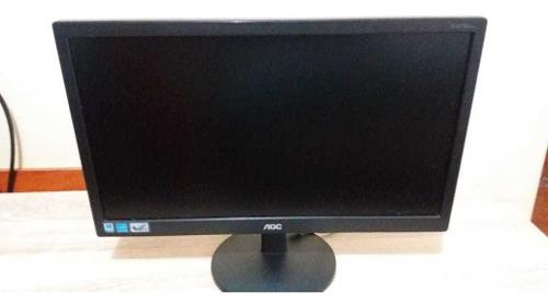Monitor Aoc De 20 Modelo E2070swn Usado Casi Nuevo