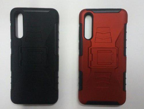 Case Protector Con Parante Para Sony Huawei P20 Pro