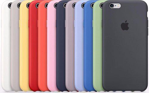 Case Protector De Silicona Para iPhone 8 Original Apple