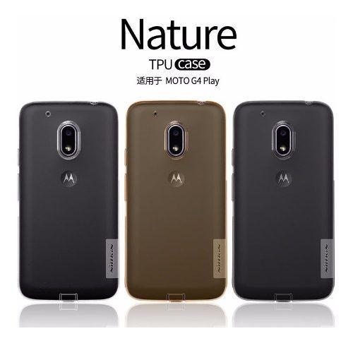Case Protector Silicona Nillkin: Nature Motorola G4 Play