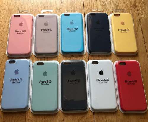 Case Silicona iPhone 6, 6 Plus, 6s, 6s Plus Protector Apple