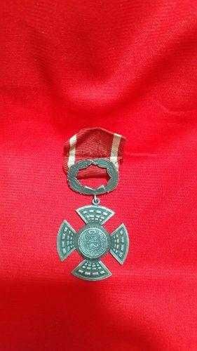2a Antigua Medalla De Plata Del Combate Del 2 De Mayo.