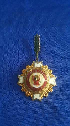 2a Medalla Merito Policial - Peru