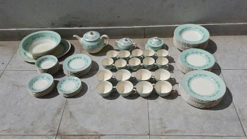 Antigua Vajilla De Porcelana Jhonson Bros Made In England