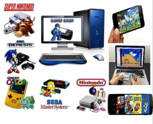 Emuladores Nintendo 64 Sega Gameboy Super Nintendo Super Nes