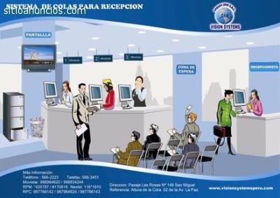 ORDENADOR DE FILAS MODELO RECEPCION