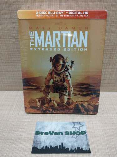 The Martian Blu Ray Película Steelbook Nuevo Original Marte