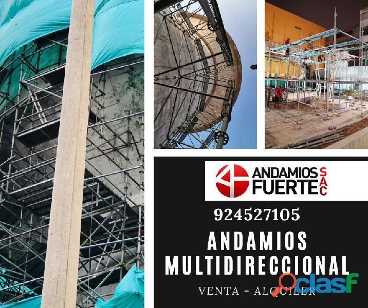 Andamios Multidireccional Certificado
