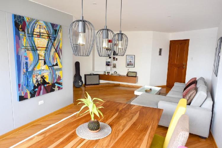 Alquiler de Departamento Amoblado 2 Habitaciones Miraflores