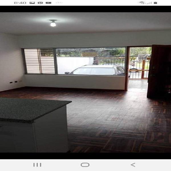 Alquilo Acogedor Dpto. Flat Frente a Parque en Monterrico