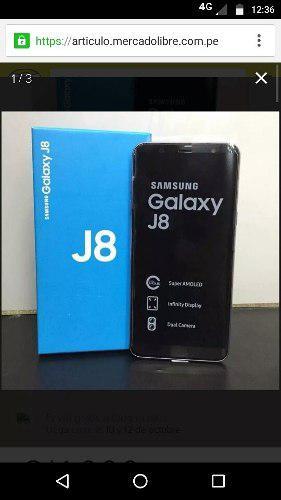Celular Samsung Galaxy J8 Nuevo En Caja