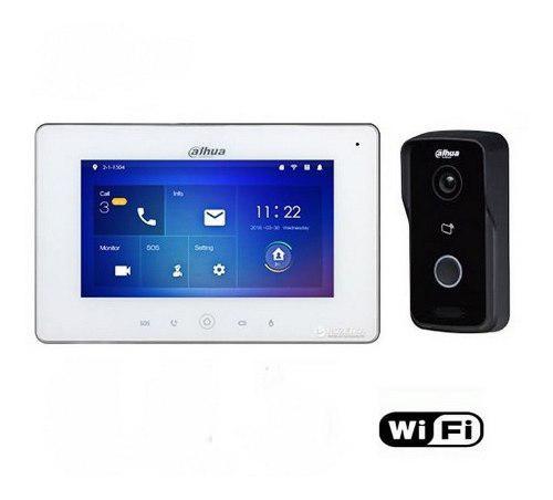 Dahua - Kit Video Portero Wifi Vto2111d-wp Y Vth5221dw Nuevo